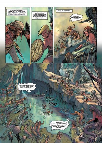 Page 1 la quête du Graal T.4 - les terres désolées