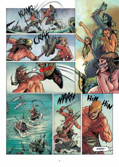 Page 2 la quête du Graal T.4 - les terres désolées