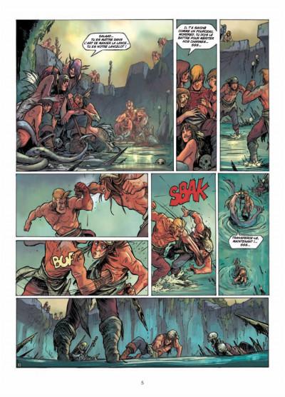 Page 3 la quête du Graal T.4 - les terres désolées