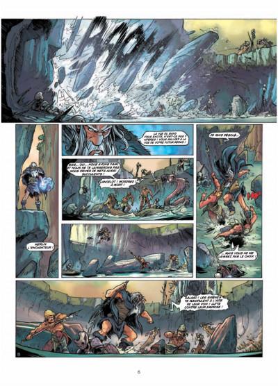 Page 4 la quête du Graal T.4 - les terres désolées