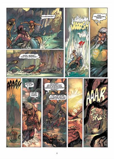 Page 6 la quête du Graal T.4 - les terres désolées