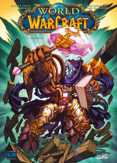 Couverture world of warcraft tome 10