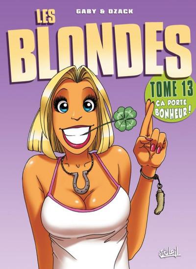 image de les blondes tome 13 - ça porte bonheur !