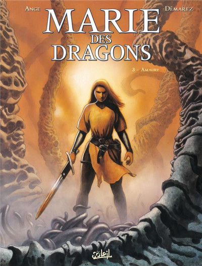 Couverture Marie des dragons tome 3 - Amaury