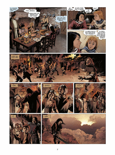 Page 8 Marie des dragons tome 3 - Amaury