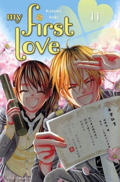Couverture my first love tome 11