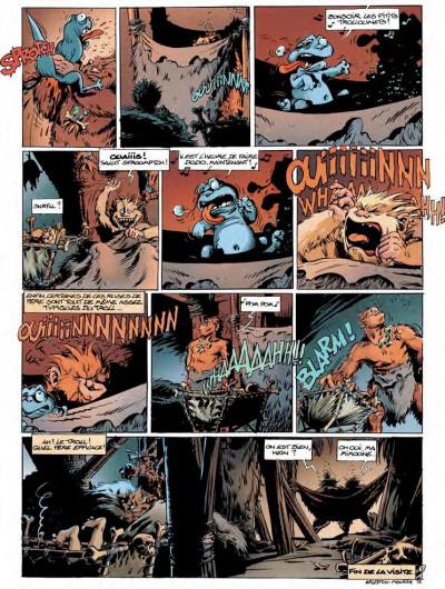 Page 3 Trolls de Troy tome 14 - l'histoire de Waha
