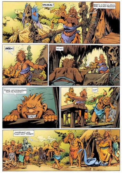 Page 4 Trolls de Troy tome 14 - l'histoire de Waha
