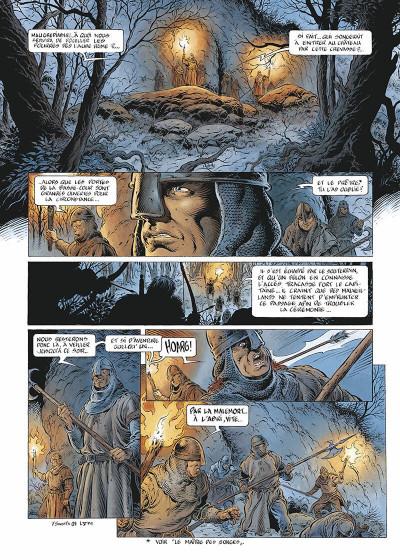 Page 4 Légende tome 5 - Hauteterres