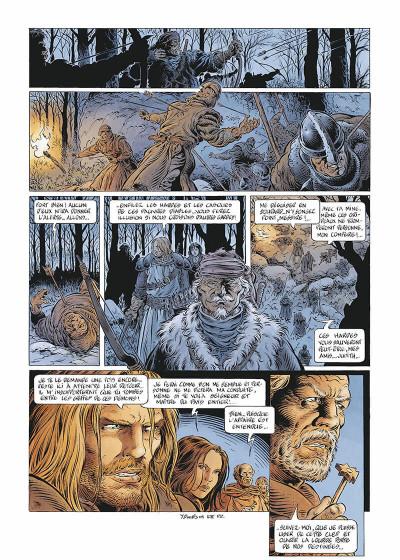 Page 5 Légende tome 5 - Hauteterres