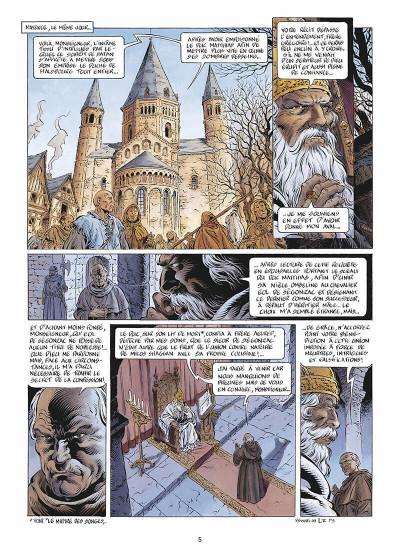 Page 6 Légende tome 5 - Hauteterres