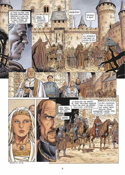 Page 7 Légende tome 5 - Hauteterres