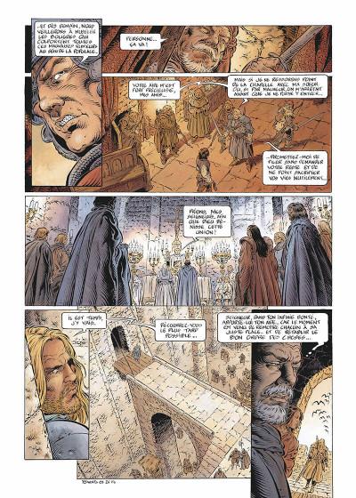 Page 8 Légende tome 5 - Hauteterres