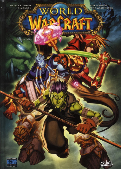 Couverture world of warcraft tome 11