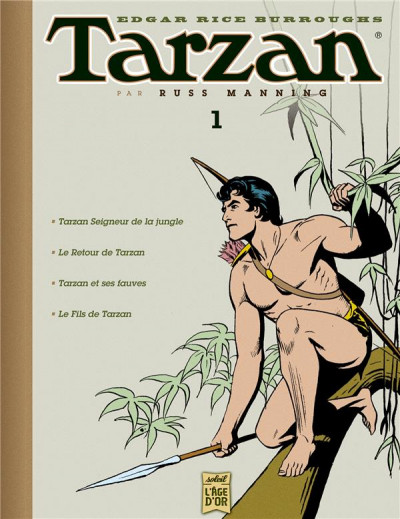 Couverture tarzan - archives tome 1 - Tarzan l'homme-singe.