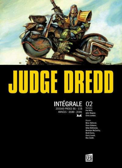 Couverture judge Dredd - intégrale tome 2