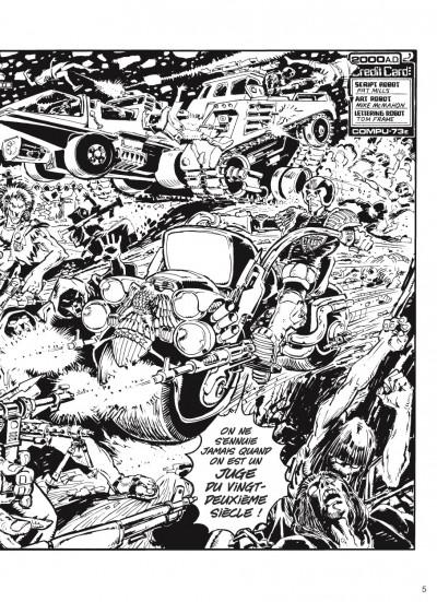 Page 2 judge Dredd - intégrale tome 2