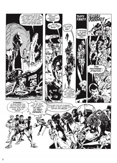 Page 5 judge Dredd - intégrale tome 2