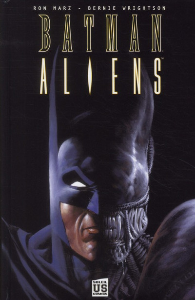 Couverture batman aliens tome 1