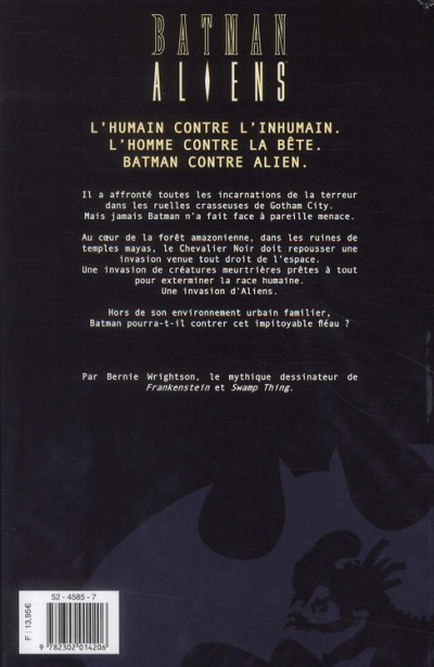 Dos batman aliens tome 1