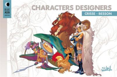 image de crisse besson : characters designers