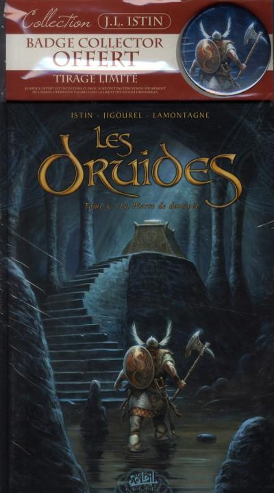 Couverture les druides tome 5 - La pierre de destinée