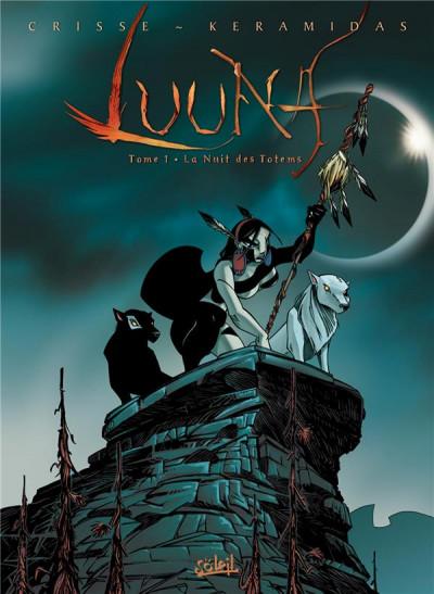 Couverture Luuna tome 1 - la nuit des totems