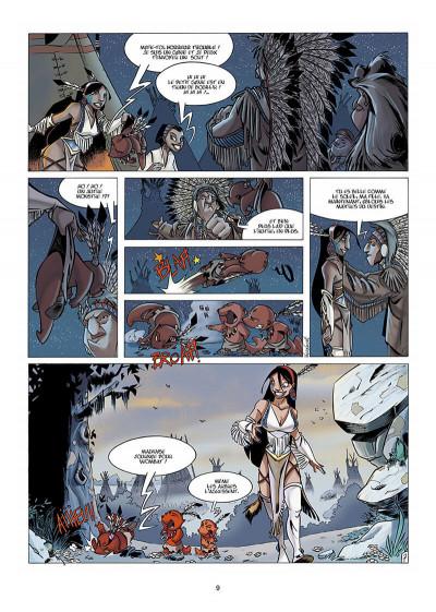 Page 0 Luuna tome 1 - la nuit des totems