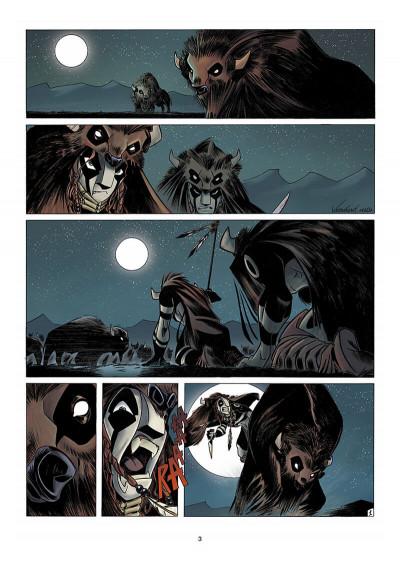 Page 4 Luuna tome 1 - la nuit des totems
