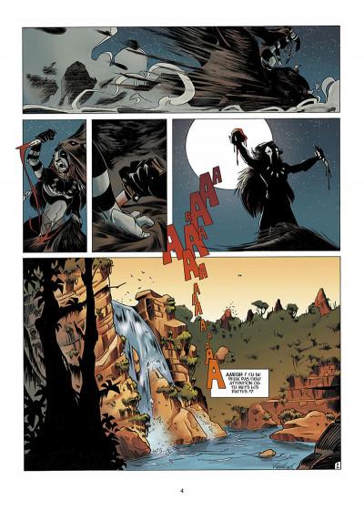 Page 5 Luuna tome 1 - la nuit des totems