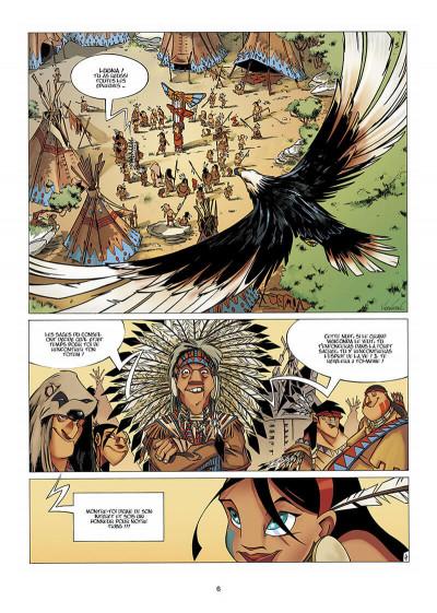 Page 7 Luuna tome 1 - la nuit des totems