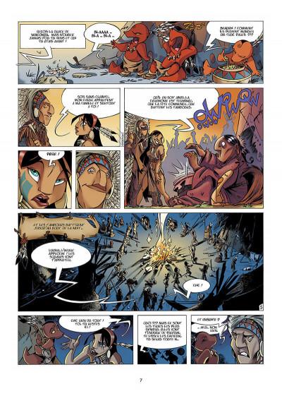 Page 8 Luuna tome 1 - la nuit des totems