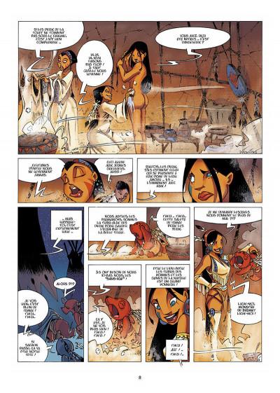Page 9 Luuna tome 1 - la nuit des totems