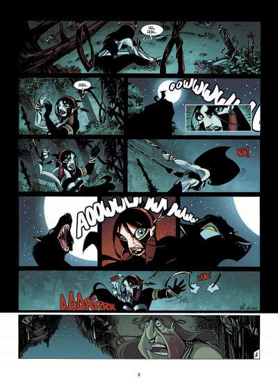 Page 4 Luuna T.3 - dans les traces d'Oh-Mah-Ah