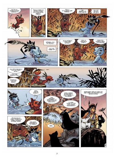 Page 8 Luuna T.3 - dans les traces d'Oh-Mah-Ah