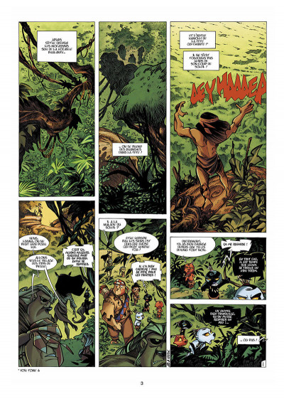 Page 4 Luuna tome 5 - le cercle des miroirs