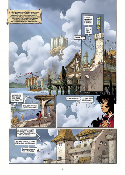 Page 4 Lanfeust Odyssey tome 1