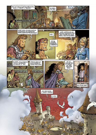 Page 5 Lanfeust Odyssey tome 1