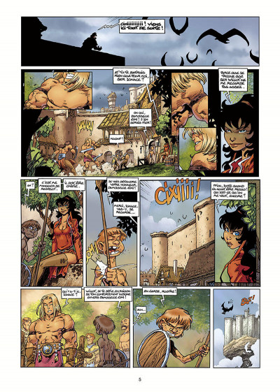 Page 6 Lanfeust Odyssey tome 1