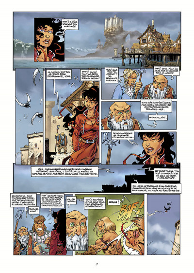 Page 8 Lanfeust Odyssey tome 1