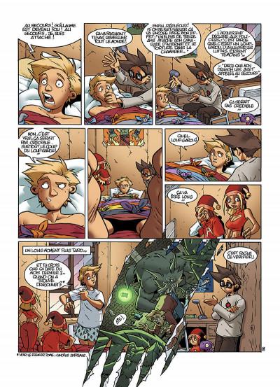 Page 0 le Collège Invisible T.2 - furor draconis