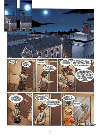 Page 4 le Collège Invisible T.2 - furor draconis
