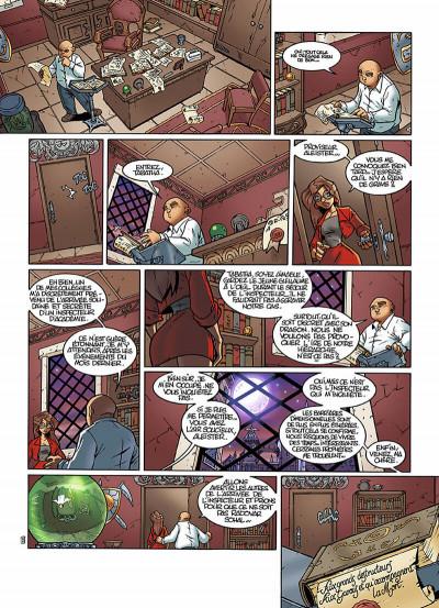 Page 5 le Collège Invisible T.2 - furor draconis