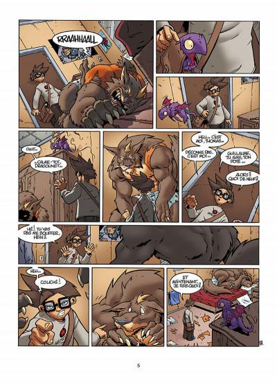 Page 6 le Collège Invisible T.2 - furor draconis
