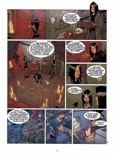 Page 8 le Collège Invisible T.2 - furor draconis