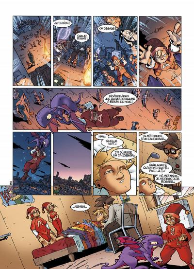 Page 9 le Collège Invisible T.2 - furor draconis