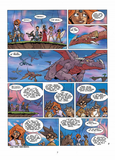 Page 8 le collège invisible tome 3 - astralum cauchemardem