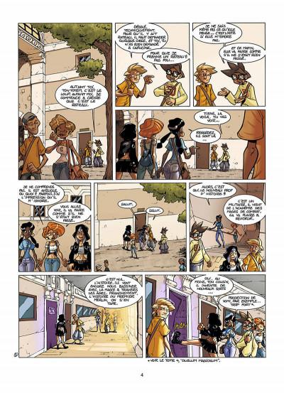 Page 5 le Collège Invisible tome 5 - gestus collegiem