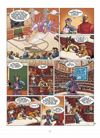 Page 8 le Collège Invisible tome 5 - gestus collegiem