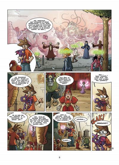 Page 0 le collège invisible tome 6 - galactus destructor